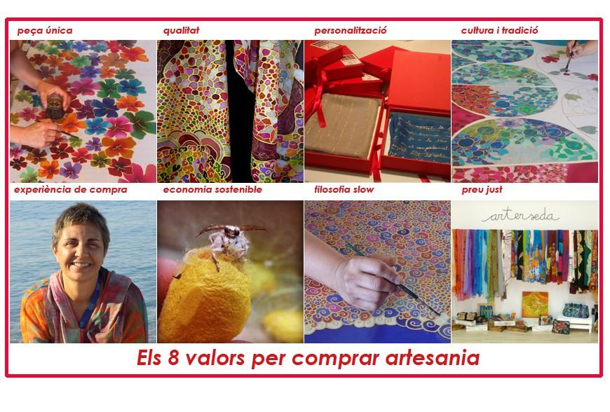 Els 8 valors per comprar artesania