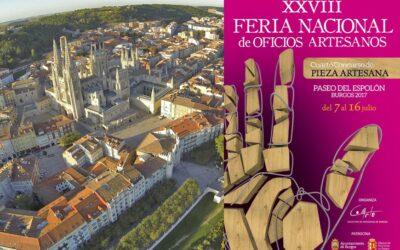 FERIA NACIONAL DE OFICIOS ARTESANOS EN BURGOS